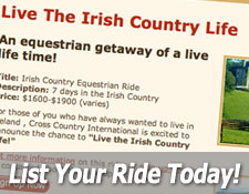 List Your Equestrian Ride Today